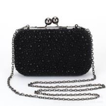 Женская вечерняя сумочка Для женщин алмаз горный хрусталь сцепления Кристалл день сцепления Кошелек Свадьба Кошелек вечерние банкет черный/цвета: золотистый, серебристый Z14 SCXLaiSC 32750786709