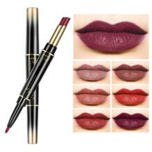 2 в 1 карандаш для губ двухсторонний водостойкий телесный цвет сексуальный карандаш для помады стойкий женский макияж rossetto TSLM2 pudaier 32892502869