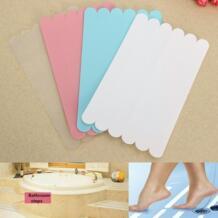Новые 6 шт. Нескользящие наклейки для ванной нескользящие напольные покрытия безопасность Ванна полоски для душа лента коврик аппликация аксессуары для ванной комнаты Xueqin 32816649579
