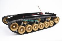Баланс демпфирования Танк робот шасси платформы с высокой мощность дистанционное управление DIY гусеничный амортизация для Arduino DIY RC игрушка OLOEY 32888278920