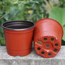 25 шт. пластиковые цветочные горшки для растений садовая теплица для растений горшок macetas контейнер для выращивания трав меньшие годовые овощи Behokic 32820948689