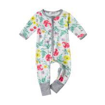 Одежда для малышей крещения Детский комбинезон для девочки Little Одежда для мальчиков младший ребенок комбинезон пижамы комбинезоны 1st на день рождения Bebes наряды RBVH 32791523573