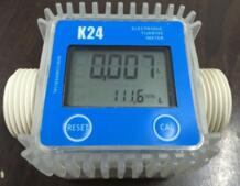 K24 Turbo цифровой поток расходомер дизельного топлива Вода plomeria потока индикатор переносной турбинный расходомер caudalimetro датчик No name 32315577382
