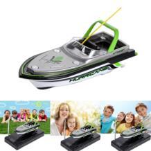 Мини Лодка Радио электрический пульт дистанционного управления RC супер миниатюрная быстроходная лодка двойной мотор для детей детская Рождественская игрушка на день рождения No name 32571460784