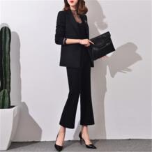 Брючный костюм Для женщин элегантные деловые костюмы для Для женщин офисные костюмы для Для женщин брючные костюмы Дамская Мода Марка 2017 Весна j17ct0043 No name 32797665964