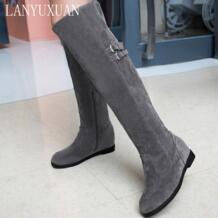 Bottes bottine femmes/2017 г.; зимние ботинки на платформе в австралийском стиле в стиле милитари; botas mujer zapatos mujer; женская обувь; masculina 618 BLXQPYT 32755699612