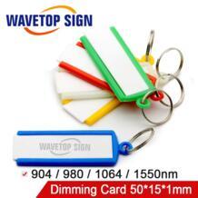 Инфракрасный визуализатор детектор калибратор для выравнивания 1064nm YAG/волоконный диод лазерный луч размер 50 мм * 15 мм * 1 мм wavetopsign 32780795687