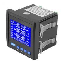 Многофункциональный измеритель мощности 3-фазный электрический ток Напряжение частоты Мощность измеритель энергии в Гц кВт-ч RS485 черный VBESTLIFE 32844073140