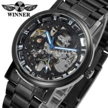 Супер стильный подарок Скелет сплав чехол из нержавеющей стали черный браслет Relogio WINNER мужские спортивные часы/WRG8028M4B2-in Механические часы from Ручные часы on Aliexpress.com   Alibaba Group T-winner 2005860310