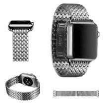 новый браслет для apple watch band series 1 2 3 высококачественный ремешок из нержавеющей стали для iwatch с застежкой-бабочкой URVOI 32435210317