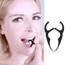 Яс шт. 50 шт. бамбуковый уголь зубная нить зубы Зубочистки уход за полостью рта чистка зубов черный новый YAS 32848898455