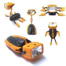 Новое поступление мини фонарик робот Электрический факел новые творческие игрушки для детей многофункциональный ночник AOSST 32798494788