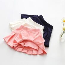 Обувь для девочек хлопок плиссированные юбки шорты женщин 2018 новые летние для маленьких девочек юбка танцев безопасности разделенные preax 32857368035
