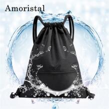 Шнурок геометрический узор Водонепроницаемый Портативный складной путешествия Softback человек Для женщин сумки хранения Спорт подросток рюкзак B217 Amoristal 32874847910