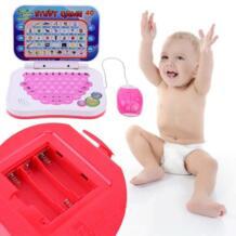 Двуязычная обучающая машина для детей, ноутбук, компьютерная игрушка, алфавит, обучающие игрушки для детей, цвет случайный ttnight 32851009541