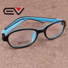 Высокое качество дети кадры очки Силиконовые детей полный очки кадр мальчиков оптический близорукость Glasse девушка лёгкие очки 0279 EV 32228957349