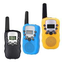 2 шт. Мини Портативная рация радио T388 частота Портативный двухстороннее радио подарок игрушки для мальчиков и девочек QWOK 32871732840