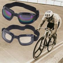 Четкое видение складной Защита для глаз Ветрозащитный Анти-туман глаз Очки снег очки спортивные лыжные Велоспорт подходит разнообразие Уход за кожей лица #92901 cycle zone 32737174583