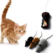 Беспроводной RC мышки для котов игрушки с дистанционным управлением Управление игрушечная мышь Новинка RC Cat забавная игровая мышь игрушки для кошек #19 TONQUU 32923299732