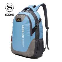 новый модный бренд дизайн унисекс мягкая ручка Повседневная жизнь Двойной плечевой рюкзак школьные сумки для подростков scione 32398704487