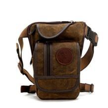 Новая модная качественная Водонепроницаемая холщовая поясная сумка Повседневная дорожная Мужская сумка Сумка для мотоцикла на ногу поясная сумка 4 цвета AOLAILUDI 32776756960