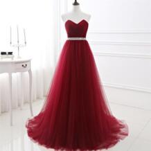 В наличии вино красные платья для выпускного A-Line плиссированные фатиновые праздничные платья Кристалл Бисероплетение створки женщина формальный Случай Платье, вечерний наряд shamai 32789891297
