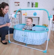 Лидер продаж Детские умные Электрическое Кресло-Качалка электрическая кроватка детская кровать электрические качели Детская кровать современное кресло-качалка Babyfond 32282188356
