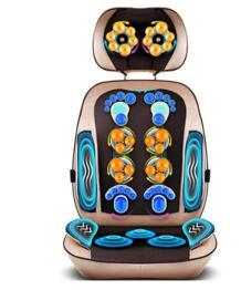 Шейный массаж шеи устройство Массажный коврик талии всего тела Многофункциональный Подушка массажная подушка бытовой подушки No name 32842251347