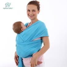 Дышащая детская накидка и Рюкзак-переноска для младенцев, удобная модная дизайнерская хлопковая детская слинг для новорожденных EGMAO BABY 32804517503