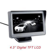 4,3-дюймовый цветной TFT ЖК-монитор дисплей парковки заднего вида резервный 4,3 ''видео PAL/NTSC Бесплатная доставка Viecar 32663337511