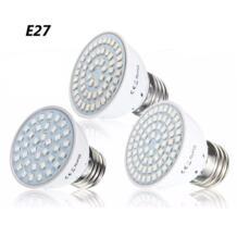 Светодиодный лампа для выращивания E27 4 W 54 2835SMD полный спектр Вег цветы роста растений лампы для парниковых Системы 110 V/220 V Smuxi 32798214475