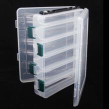 пластиковая коробка для рыболовной приманки 21x17x5 см 12 отсеков двухсторонняя водонепроницаемая рыболовная снасть аксессуары рыболовная коробка-in Коробка для рыболовной снасти from Спорт и развлечения on AliExpress TSURINOYA 32333822582