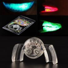 1 предмет Новая Красочные мигающий вспышки Brace Капы из праздничных вечеринок свечение зуба Забавный светодиодные игрушки No name 32707285301