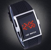 Квадратные цифровые часы светодио дный часы мужские военные наручные часы спортивные часы shmik 32627140878