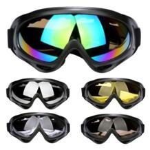 На открытом воздухе лыжные очки двойной UV400 Анти-Туман Пыли ветра УФ Лыжная маска очки Лыжный Спорт Для мужчин Для женщин Снег Сноуборд очки X-400 ROBESBON 32836697939