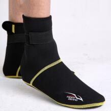 Неопрен Подводное плавание дайвинг обувь носки для девочек 3 мм пляжные сапожки для Гидрокостюма мокрого типа анти царапины потепление Нескользящие зимние KEEP DIVING 32895544061
