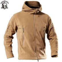 Спорт на открытом воздухе кемпинг походные куртки мужская одежда тактическая Флисовая Куртка теплое флисовое пальто для мужчин охота SINAIRSOFT 32953000544