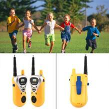 Детские электронные Двухканальные рации Infantil телефон игрушка детское мини-ручной домофон радиопередатчик детей двусторонней радиосвязи переговорные YKS 32844322415