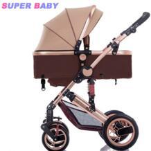 Красивый пейзаж для детей коляска может сидеть лежащий детская коляска шок складной портативная детская коляска YIBAOLAI 32858650985