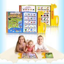 Детский английский, арабский обучающий аппарат двуязычный детский планште для чтения обучающая фонетическая диаграмма раннего языка звуковые игрушки для детей ttnight 32870954905