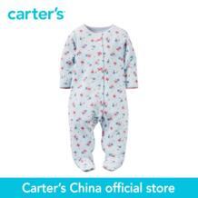 Carter's/1 шт. для маленьких детей Детские хлопковые Snap-Up Sleep & Play 115G129, продается из официального магазина Carter's в Китае No name 32787370279