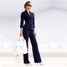 Для женщин брючный костюм женский костюм платье Нотч Для женщин Бизнес офисные смокинги куртка + брюки женский костюм Индивидуальный заказ A10 ToBeBridal 32862363095
