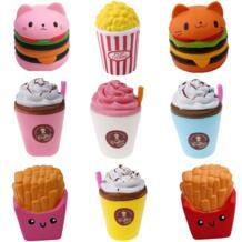 Забавные игрушки Jumbo мягкими игрушками дети медленно поднимающийся Бесконечность модная Игрушка снятие стресса игрушка сладкий ароматический Сжимаемый подарок HAPPY MONKEY 32872495228