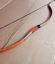 20-60 # Традиционный retrorsely желтый коричневый Longbow стрельба охота на открытом воздухе поддержка оптовая продажа No name 32631452949