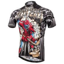 XINTOWN череп для верховой езды короткие-футболки с рукавами Велосипеды костюмы летние пот-абсорбент быстросохнущая рубашка Спорт сжатия нижнее белье No name 32841870946