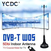 Мини HD ТВ антенна DVB-T Freeview 5dBi цифровой ТВ Антенна Крытый приемник сигнала антенный усилитель CMMB Televison приемники YCDC 32822519034