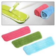 Многоразовые швабры из микрофибры Pad практическая Ho Применение удерживать пыль уборка дома Применение коврик из микрофибры для распыления Mop Цвета случайный MOJOYCE 32826449289