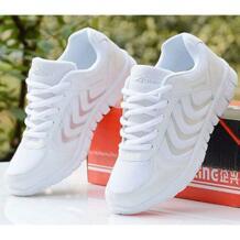 Для женщин повседневная обувь 2018 Новый superstar весенне-летние модные дышащие кроссовки обувь tenis feminino Быстрая доставка JIASHA 32703123750