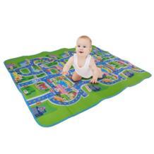 Коврик для ребенка ползать коврик EVA город трафика коврик для лазания зеленый дорожный детский игровой ковер для маленьких Водонепроницаемый Ползания Mambobaby 32805929469