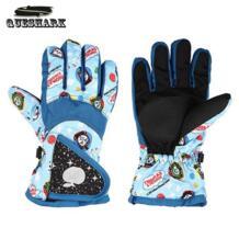 Дети Девочки Мальчики зима Лыжный спорт перчатки велосипед езда теплые Водонепроницаемый ветрозащитный лыжный перчатки для детей QUESHARK 32831716323